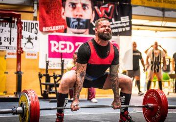 Europameister der WUAP im Powerlifting 2017