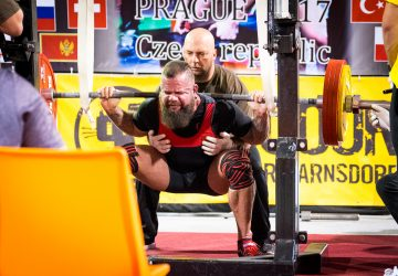 Ronny wird Weltmeister im Powerlifting 2017